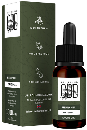 Full Spectrum Original Hemp Oil