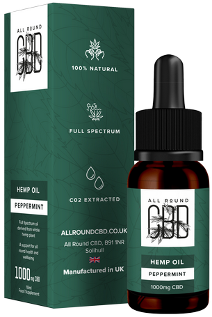 Hemp Oil Peppermint Flavoured