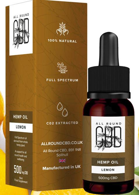 Full Spectrum Lemon Hemp Oil