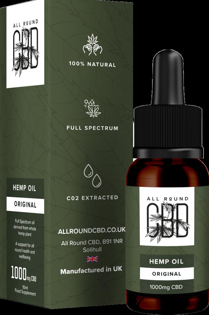 Full Spectrum Original Hemp Oil